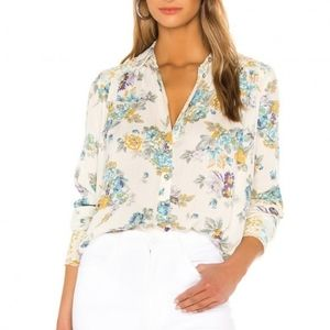 Free People Hold On To Me Floral Top